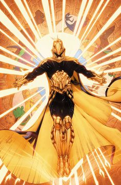 Love Brett Booth's art. Great picture of Earth - 2 Dr.Fate
