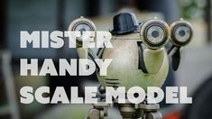 Liked on YouTube: Prop: Shop - Mister Handy Scale Model Build | Bill made his own Fallout 4 Mister Handy scale model! The figurine was modeled in Fusion 360 printed and then molded and cast. Several light layers of paint were applied to get that Fallout metal look.  Support Punished Props videos through Patreon! http://ift.tt/1PEqKw8  Fusion 360 http://ift.tt/1frwBTn  3D Printing Resources http://ift.tt/1X43wHr  Styrene http://amzn.to/1SV0jKA  Sandpaper Grits http://amzn.to/1TB6Qr0  Filler…
