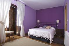 dormitorios en violeta   inspiración de diseño de interiores