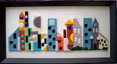 Fused Glass City Scene | Flickr - Photo Sharing!