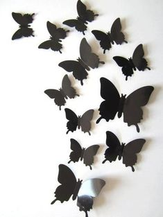 DIY Stylish Butterfly Art Wall Sticker Decals Home Room Wedding Party Decorations 3d Butterfly Wall Decor, Butterfly Bedroom, Cute Butterfly, Butterfly Decorations, Butterfly Wedding, 3d Butterfly Wall Stickers, Wall Stickers 3d, Kids Wall Decals, Wall Stickers Home Decor