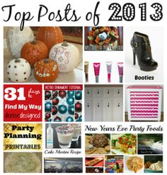 Top Posts of 2013 -