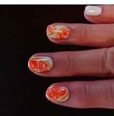 ネイル フレッシュオレンジ