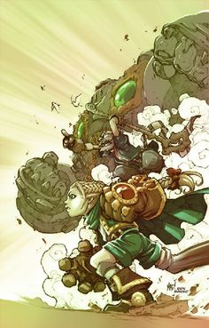 The Art Of Animation Joe Madureira, Battle Chasers, Art Basics, Image Comics, Cartoon Design, Fun Comics, Illustration Sketches, Comic Artist, Ancient Art