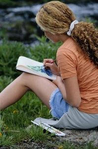 Ideas for a Junior Girl Scout's Drawing & Painting Badge