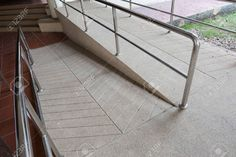 Picture of ramp way for support wheelchair disabled people made from sand and small gravel stone washed floor stock photo, images and stock photography. Lava, Ramp Design, Gravel Stones, Aging Parents, Disabled People, Disability, Colonial, Stairs, Stock Photos