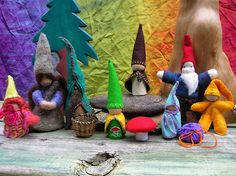 the gnome clan by momma rae, via Flickr
