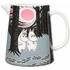 Moomin on Adventure The move Jug ($43) ❤ liked on Polyvore featuring home, kitchen & dining and serveware