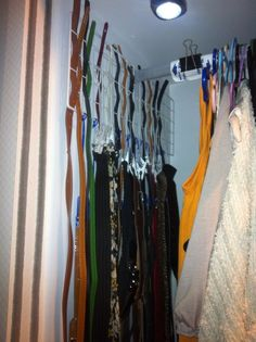 Belts Storage And Organizing For All Size And Shapes #storage #fashion #closet