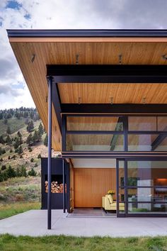 River Bank by Balance Associates Architects /Big Sky, Montana.