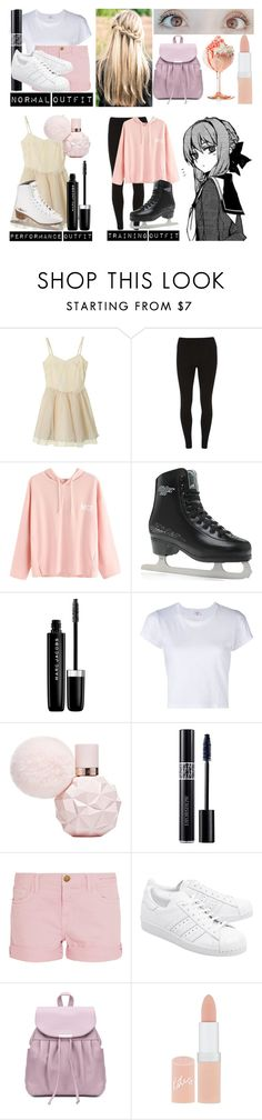 """""""Rose Hunt /// Yuri!!! On Ice OC"""" by moonlight-princess-of-the-stars ❤ liked on Polyvore featuring Dorothy Perkins, Marc Jacobs, RE/DONE, Christian Dior, Current/Elliott, adidas Originals and Rimmel"""