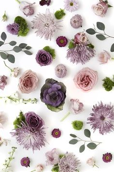 Purple floral styled stock | styling and photography by Shay Cochrane | http://www.shaycochrane.com | Find it at http://www.scstockshop.com