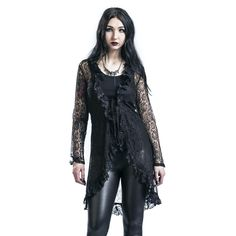 Goth Lace Jacket - Cardigan by Gothicana by EMP