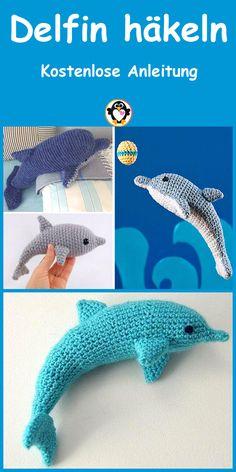 Crochet Motifs, Crochet Amigurumi Free Patterns, Crochet Dolls, Knit Crochet, Sewing Equipment, Hobbies And Interests, Baby Groot, Crochet Animals, Sea Creatures