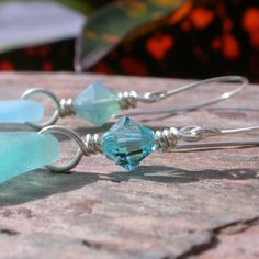 Sea Jewels For A Sea Siren With Rare Sea Glass From The Caribbean | Out Of The Blue Sea Glass Jewelry