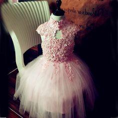 58.00$  Buy now - http://alijrg.worldwells.pw/go.php?t=32726962454 - New Children Dress Costume Girls Dress Pink Princess dress tutu dress costumes 58.00$