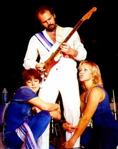 The 79' tour, Lasse Wellander, Agnetha & Frida