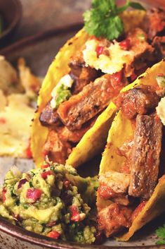 Try this delicious Quorn Steak Strips Tacos with Guacamole & Queso Fundido recipe. Click to enjoy meat free alternatives & get tasty meal ideas from Quorn.
