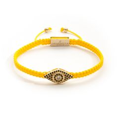 Description Healing Power More The Jahamota Jewelry Babylon bracelet is made from a precious yellow string knotted by using the traditional technique of macramé Bracelets, Jewelry, Products, Women, Fashion, Bangles, Jewlery, Moda, Jewels