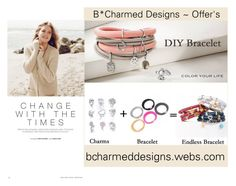 """""""B* Charmed Design's ~ Offers Endless Charm Bracelets"""" by bcharmeddesigns on Polyvore featuring Repeat Cashmere"""