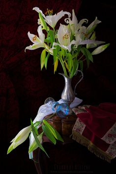 White liliums II by Giovanni Allievi - Photo 146819683 - 500px