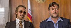 Terapia de casal com Ryan Gosling e Russel Crowe - a campanha de marketing do filme Dois Caras Legais