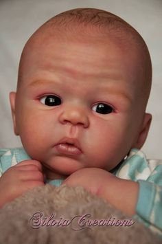 Bailey by Sandy Faber - Online Store - City of Reborn Angels Supplier of Reborn Doll Kits and Supplies