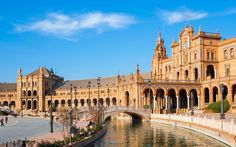 cenes from the fifth Star Wars installment were shot in Seville. Look out for the arcaded Palaçio Español, in the city's main square, and a canal crossed by bridges, where Anakin and Padme enjoy a stroll.
