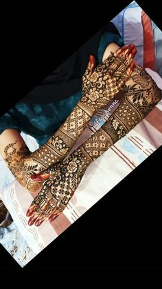Dulhan Mehndi Designs, Wedding Mehndi Designs, Unique Mehndi Designs, Henna Designs Easy, Beautiful Henna Designs, Henna Mehndi, Henna Art, Mehendi, Mehendhi Designs