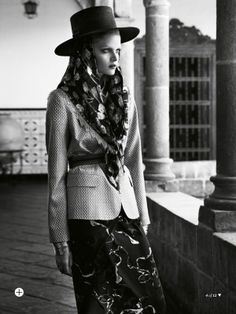 visual optimism; fashion editorials, shows, campaigns & more!: inca trail: nathalia oliveira by nicole bentley for marie claire australia april 2014
