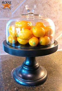 Nice Cloche but also very wonderful links for DIY
