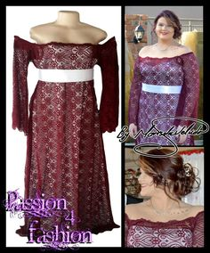 Maroon & white off shoulder matric dance dress with sheer lace bell sleeves and a detachable white belt. #mariselaveludo #fashion #matricdance #matricdress #passion4fashion #lace #lacedress #promdress #maroonandwhitematricdress #eveningwear