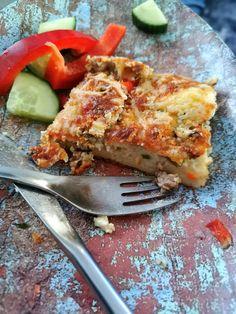 Ihana pizzapannari maistuu koko perheelle! - Frutti Di Mutsi Savory Pastry, Kitchen Time, My Cookbook, Lasagna, Main Dishes, Food And Drink, Pizza, Yummy Food, Tableware