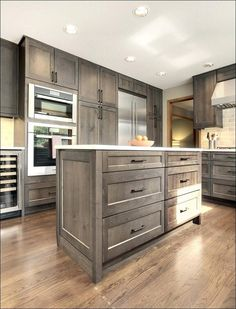 10 best rustic hickory cabinets images kitchen armoire washroom rh pinterest com