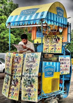Ice Cream Cart , India