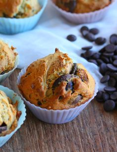 Banana Choc Muffins these are seriously good