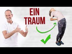 Wer unter einem Bandscheibenvorfall und Rückenschmerzen leidet , der sollte diese spezielle Übungsabfolge unbedingt regelmäßig machen. ▷ Sieh genau zu.