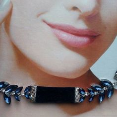 Бархатный синий #чокер  с синими камнями от #plusone Blue #Velvet #choker with blue stones from #plusone.  Цена - 2.000р.  WhatsApp +7 960 824-84-60  #fashion #style #stylish #love #me #cute #photooftheday #nails #hair #beauty #beautiful #instagood #pretty #swag #pink #girl #girls #eyes #design #model #styles #outfit #purse #jewelry #shopping #glamour
