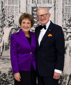 Ter ere van het 50 jarig huwelijksjubileum van Prinses Margriet en Pieter van Vollenhoven