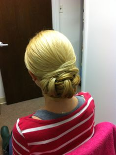 Classic chignon Hair By Jackie from www.Bella-angel.com