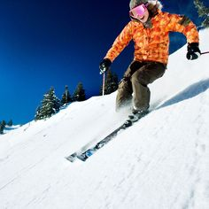 Free lessons - 10 Skiing Tips & Secrets - Sunset