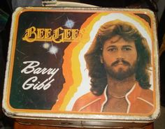 BEE GEES lunch box.  I really wanted this.