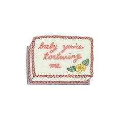 'Baby Cake' Patch – Gimme Flair