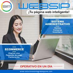 WEBSIP el website más completo, rápido y económico del mercado  Lleva a tu empresa al siguiente nivel, ¡te acompañamos! . - Contáctanos con gusto te atenderemos  Directo: +507 6411 7663 Ofic: +507 2974776 www.solucionesintegralespyme.com Calle 50, Tower Financial Center (Tower Bank) Piso 35, Panamá solucionesintegralespyme@gmail.com #Panama #Colombia #Peru #website #web #Venezuela #servicio #pyme