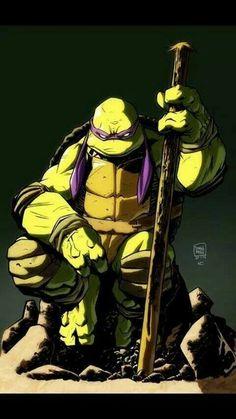 TMNT Teenage Mutant Ninja Turtles Donatello