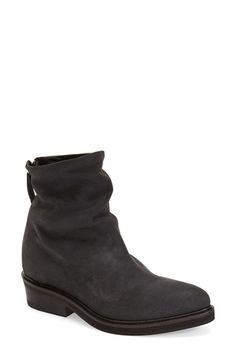 Free shipping and returns on CA by CINZIA ARAIA Hidden Wedge Bootie (Women) at Nordstrom.com. A svelte Italian pointy-toe boot crafted from nubuck leather features a slouchy shaft and a stacked heel. A hidden wedge brings just enough height to the modern silhouette.