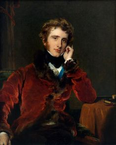 Portrait of George Welbore Agar-Ellis, Later1st Baron Dover by Sir Thomas Lawrence. c.1823
