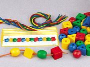 #lakeshoredreamclassroom Indestructible Giant Beads & Patterns