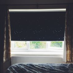 night sky black out blind stars