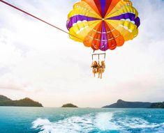 Hamilton Island, Parasailing, Paradise, Travel, Instagram, Viajes, Trips, Traveling, Heaven